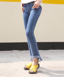 [CB0320] SLICE裤子<br>牛仔布